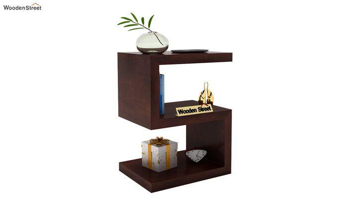Frank Display Cabinet (Walnut Finish)-2
