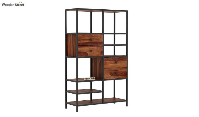 Gemini Display Unit (Teak Finish)-3