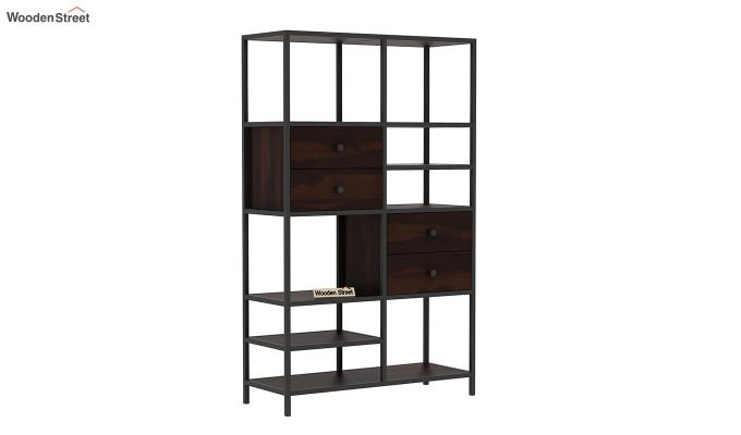 Gemini Display Unit (Walnut Finish)-3