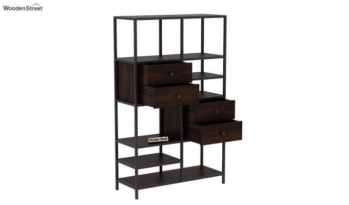 Gemini Display Unit (Walnut Finish)-5