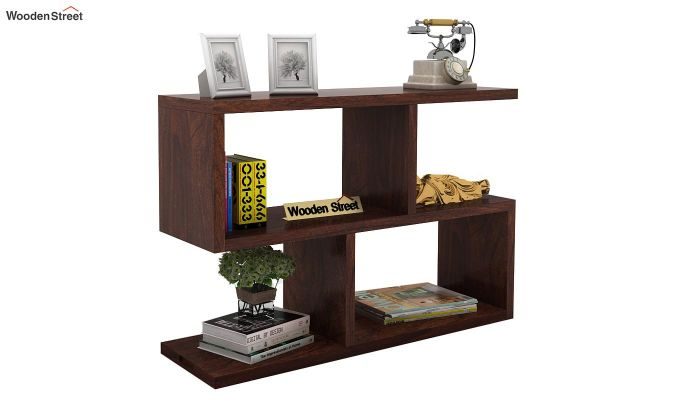 Harmond Display Unit (Walnut Finish)-1