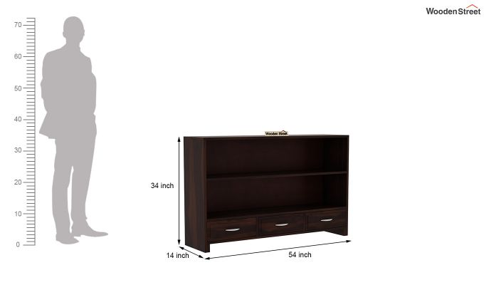 Homer Display Unit (Walnut Finish)-6