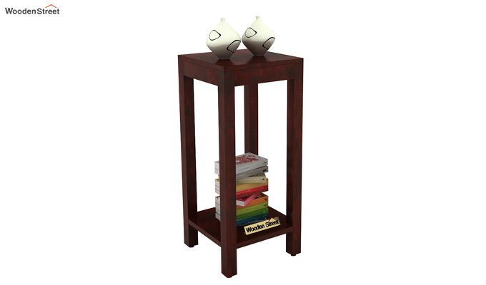 Joel Display Unit (Mahogany Finish)-1