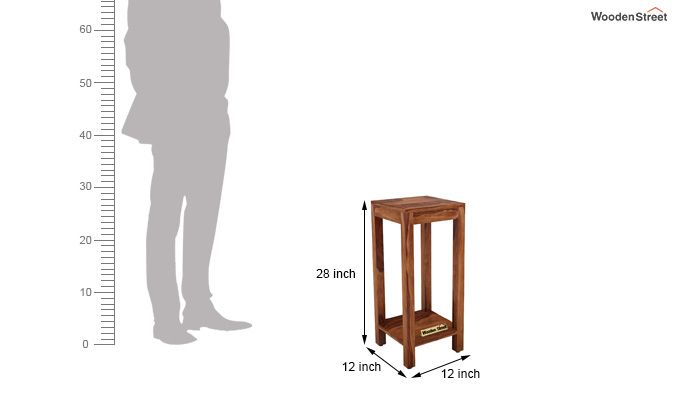 Joel Display Unit (Teak Finish)-6