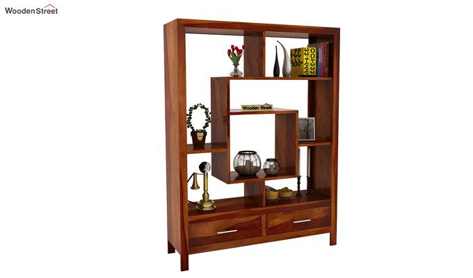 Morris Display Unit (Honey Finish)-1