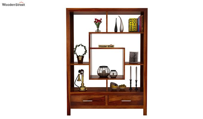 Morris Display Unit (Honey Finish)-2