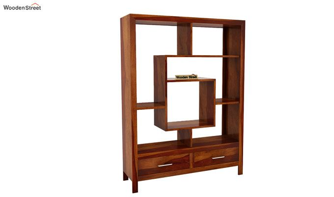 Morris Display Unit (Honey Finish)-3