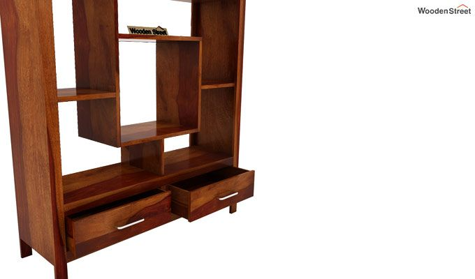 Morris Display Unit (Honey Finish)-4