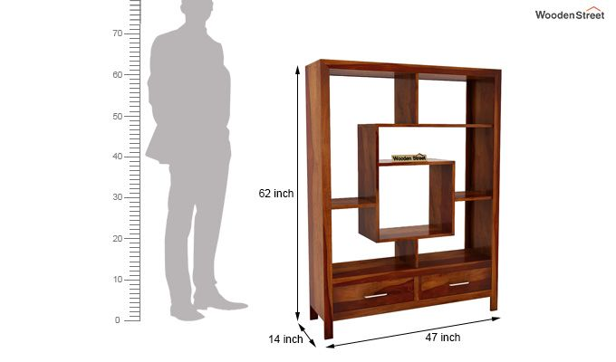 Morris Display Unit (Honey Finish)-5