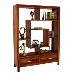 Morris Display Unit (Honey Finish)
