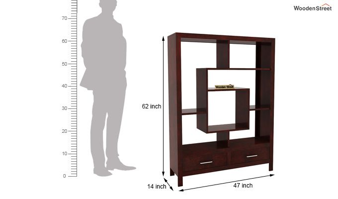 Morris Display Unit (Mahogany Finish)-6