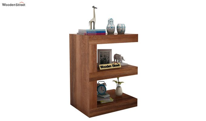 Nara Display Cabinet (Teak Finish)-1