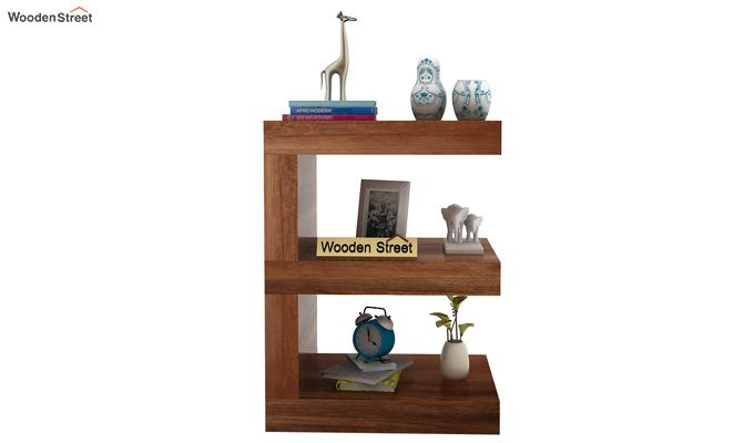 Nara Display Cabinet (Teak Finish)-2