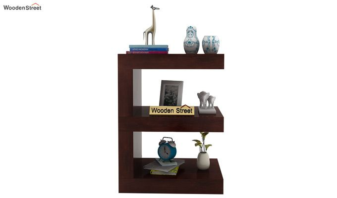 Nara Display Cabinet (Walnut Finish)-3
