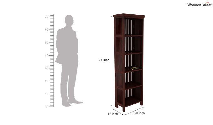 Olsen Display Cabinet (Mahogany Finish)-7