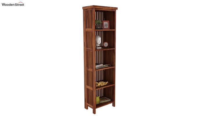 Olsen Display Cabinet (Teak Finish)-2