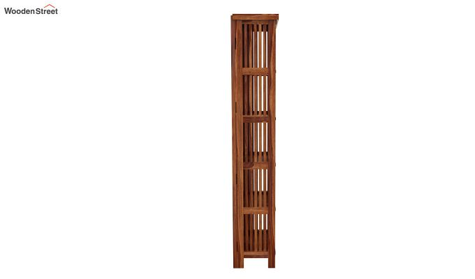 Olsen Display Cabinet (Teak Finish)-6