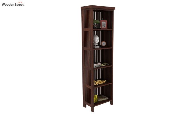 Olsen Display Cabinet (Walnut Finish)-1
