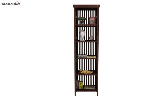 Olsen Display Cabinet (Walnut Finish)-2