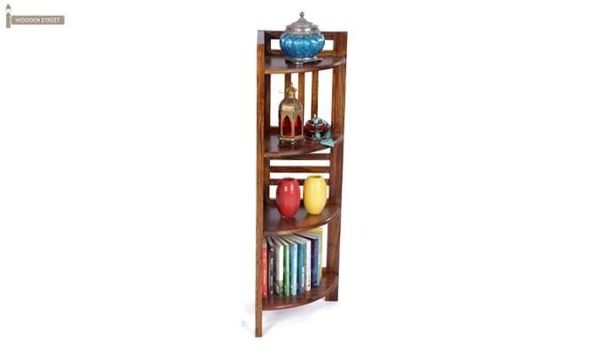 Roska Display Cabinet (Mahogany Finish)-2