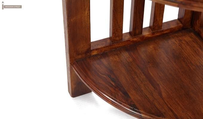 Roska Display Cabinet (Mahogany Finish)-4