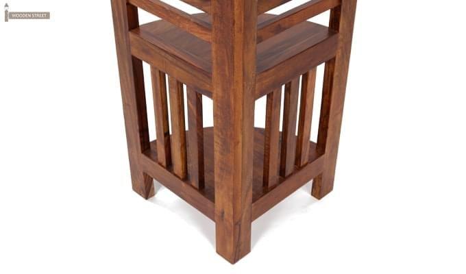 Roska Display Cabinet (Mahogany Finish)-5