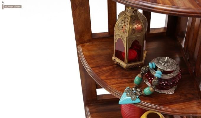 Roska Display Cabinet (Mahogany Finish)-7