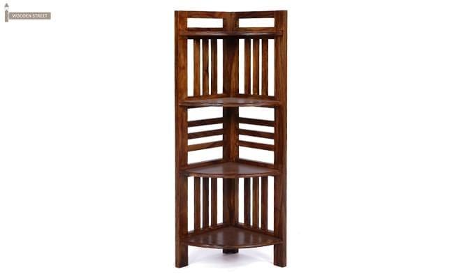 Roska Display Cabinet (Mahogany Finish)-8