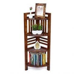 Roska Display Cabinet (Mahogany Finish)