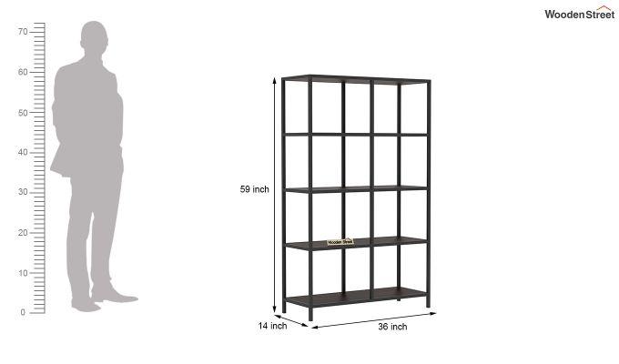 Ventus Display Unit (Walnut Finish)-5