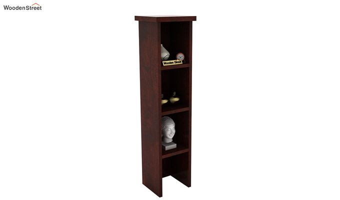 Witkin Display Cabinet (Mahogany Finish)-1