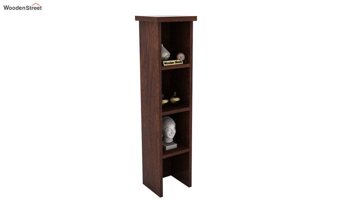 Witkin Display Cabinet (Walnut Finish)-1