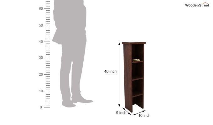 Witkin Display Cabinet (Walnut Finish)-6