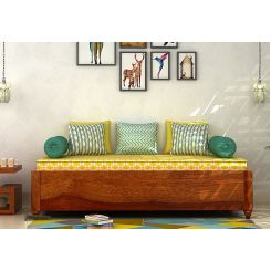 Adriana Storage Divan (Honey Finish)