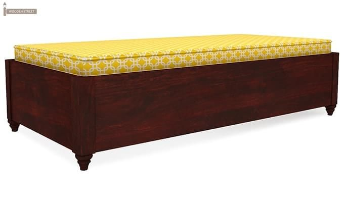 Adriana Storage Divan (Mahogany Finish)-3
