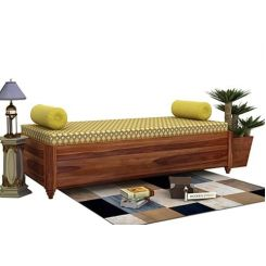 Adriana Storage Divan (Teak Finish)