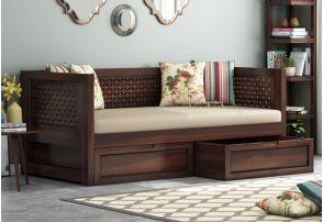 Solid Wood Divan With Storage