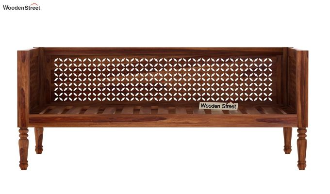 Angelica Divan (Teak Finish)-5