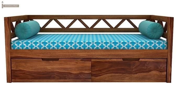 Benicio Divan (Teak Finish)-3