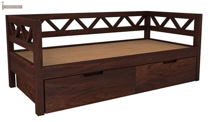 Benicio Divan (Walnut Finish)-5