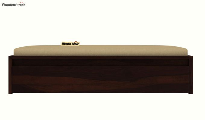 Cadoc Divan (Walnut Finish)-4