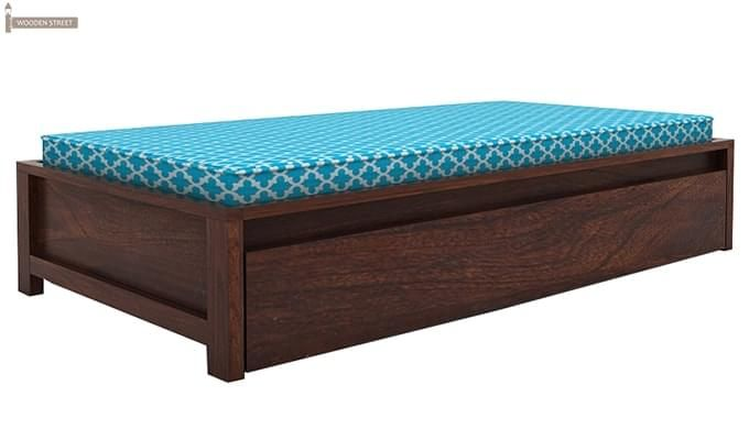 Cadoc Divan (Walnut Finish)-1