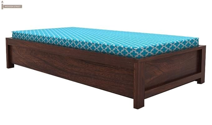 Cadoc Divan (Walnut Finish)-3