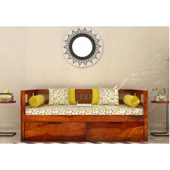 Hudson Divan (Honey Finish)