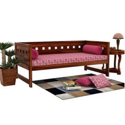 Swayze Divan Without Storage (Honey Finish)