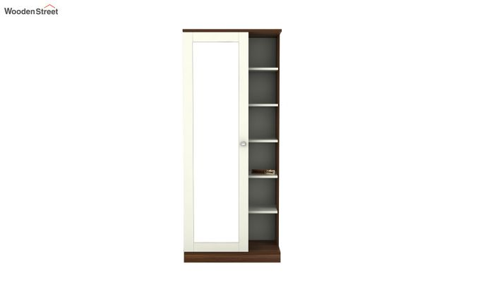 Magnum Dressing Table (Frosty White Finish)-3