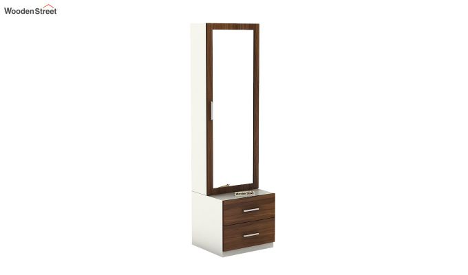Remy Dressing Table (Frosty White Finish)-2