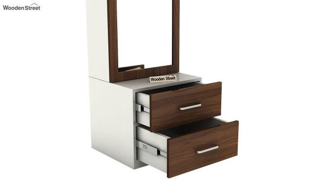Remy Dressing Table (Frosty White Finish)-6