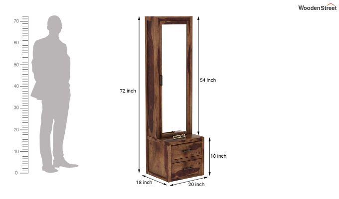 Aberdeen Dressing Table (Teak Finish)-6