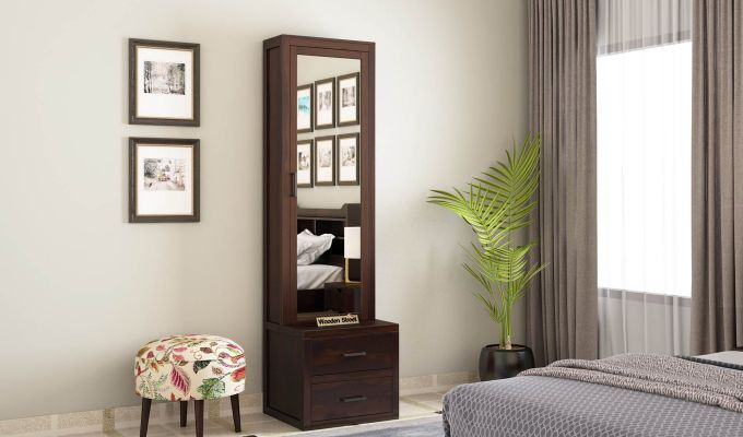 Aberdeen Dressing Table (Walnut Finish)-1